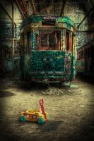 Harold Park Trams10 by RichardjJones