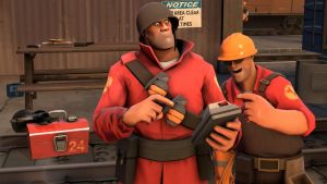 Soldier and Engie make a duet!- video by C-Spah049