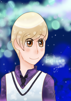 Finland and his sparkles by Alaskaair