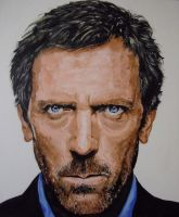 Hugh Laurie by SheenaBeresford