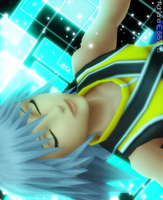 Falling to the Data World Riku's Version by Adrianbrazt10