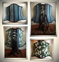 My first Corset by cocacolagirlie