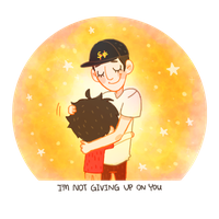BH6 - I'm not giving up on you by dailyguydoodle