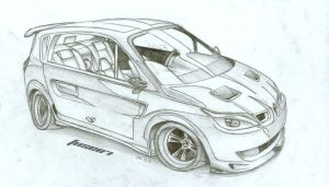 Renault Scenic by FuseEST