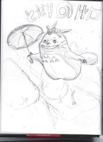 Requested Totoro! by Undersomebamboo