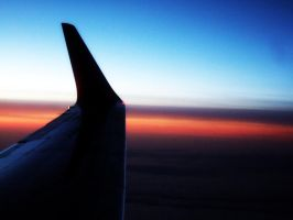Sunset on Air by aisucafe