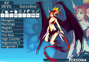MM Persona: Succubus R4 by cherubchan