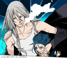 Air Gear 292 - Kaito+Gazelle by scorpinoc