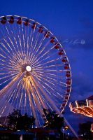 Navy Pier Ferris Wheel by BowEchoMedia