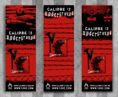 Calibre 12 - 3 banners models by absintho
