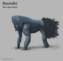 Bounder (Blas Lagomorphis) by Demmmmy