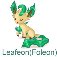 Eeveelutions - Leafeon by Tsunaamii