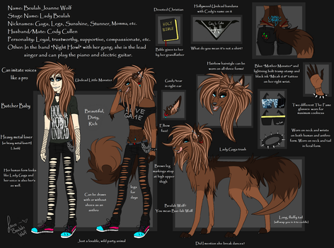 Beulah Wolf Reference Sheet by BeulahWolf
