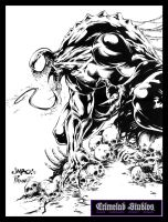 Venom by Salgado and Prado by PradoInkworks