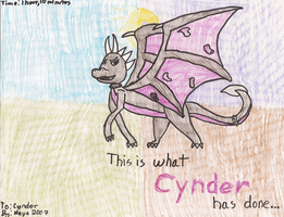 This is what Cynder has done by MayaDragon