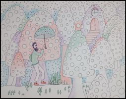 tripping shroom home by santosam81