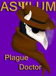 Plague Doctor by BloodGoldWings