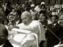 Pope John Paul II by creativehouse