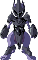 Mewtwo Armor by clampfan101