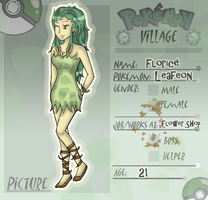 .: PV: Florice the Leafeon - New App :. by Leiriope