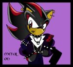 Shadow The Hedgehog - Metal ON by Martyna-Chan