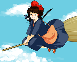 kiki's delivery service by ant1gone