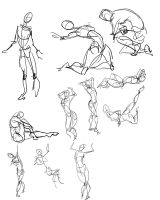 30 Sec gesture drawings by Fyuvix