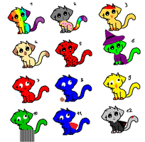 Really Random Kitty Cats- FREE by superstel