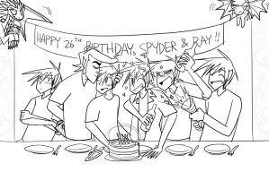Birthday for Two by Vey-kun