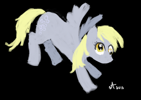 MS Paint Derpy Hooves by Amaya-Fanel
