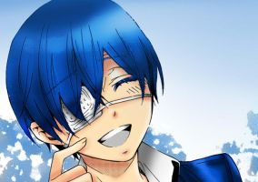 ciel phantomhive just smile by DarkEvilCristina