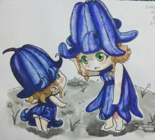 Inktober day 26: Blue bells by njclaws