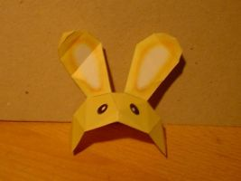 Bunny Hood papercraft by Paracage