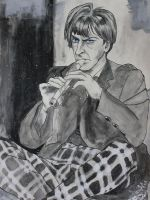 Second Doctor Portrait by SmudgeThistle