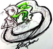 Idea sketch - Ectoplasm by vetjahana