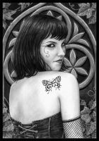 Gothic Lady by Evels-Selena