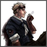 Cid... smoking. by prominence