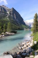 Summer Scenes - Lake Louise2 by Qrinta