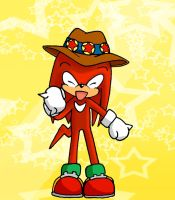 Knuckles with a Hat :3 by Frankyding90