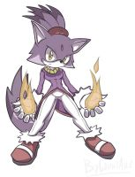Blaze the cat by CountAile