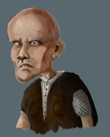 Old man by Speck--Of--Dust