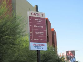 New Gila River Arena Signage by BigMac1212