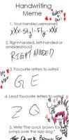 Handwriting Meme by Styl-Fly