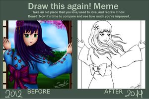 Draw this again 10 by Suna004