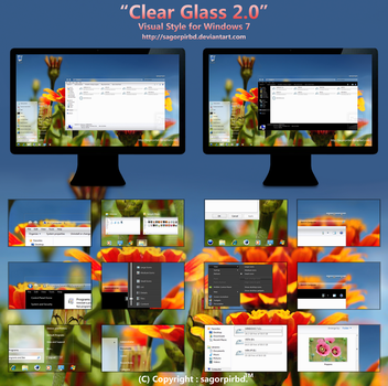 Clear Glass 2.0 for Win 7 by sagorpirbd