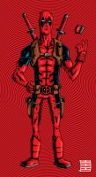 Deadpool :3 by thesometimers
