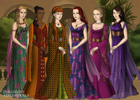 Doctor Who Companions by galinilime