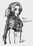 Aerith Gainsborough by Jimmyflame-Artworks
