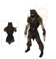 Udyr redesign  concept by iBralui