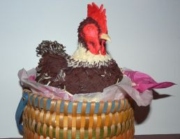 Chicken cake by monarte